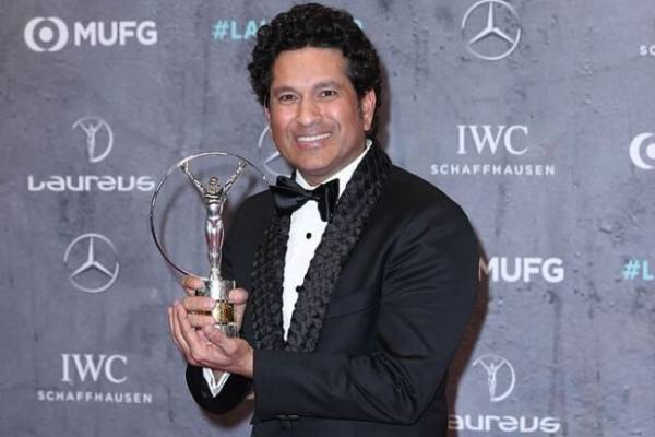 Sachin 2011 WC victory lap named best Laureus sporting moment