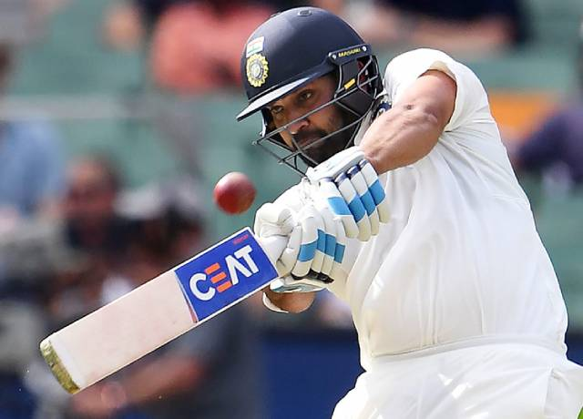 Rohit Sharma became the 1st batsman to hit 100 sixes against australia