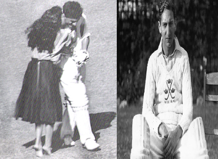Abbas Ali Baig was kissed by a girl in the cricket ground