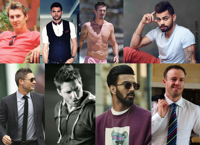 Most Handsome Cricketers : View list Around The World