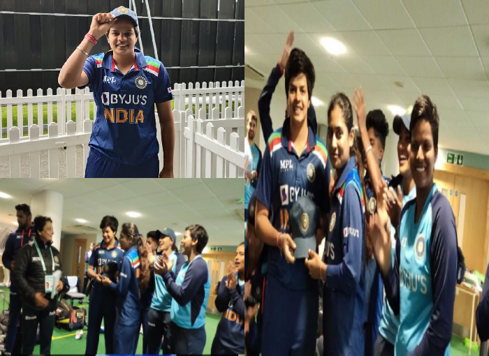 Proud Moment : Shafali Verma becomes youngest indian cricketer to play all 3 formats