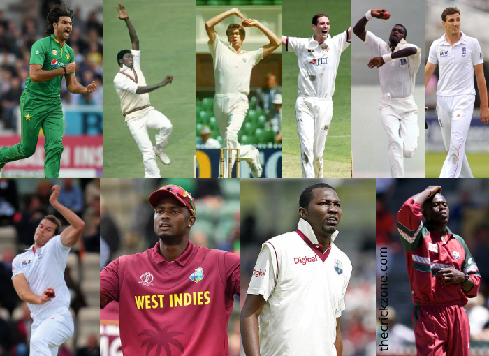 Top 10 Tallest Cricketers in Cricket History