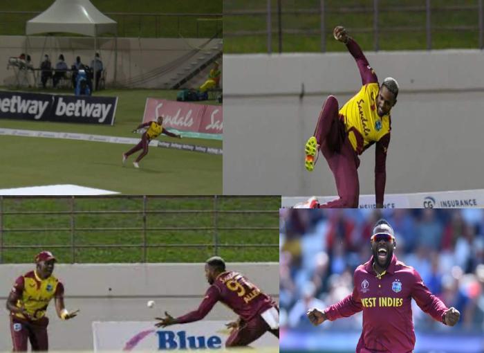 Watch Video: Fabian Allen best one handed catch ever seen