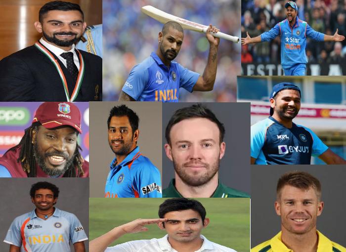 Top 10 Batsmen with Most Runs in IPL History