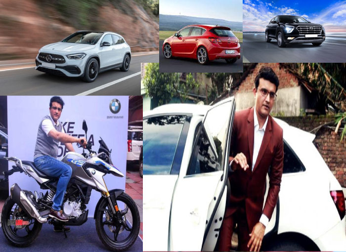 Check out- Sourav Ganguly's Cars and Bikes collection