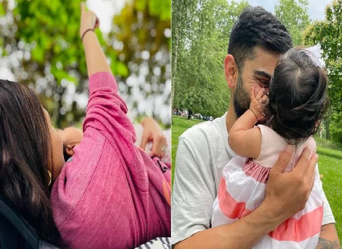 Check PHOTOS- Virat and Anushka's daughter Vamika's photo shared on Instagram