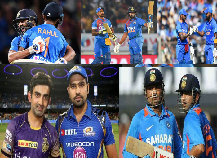 5 best opening pair of Indian team in T20 cricket format