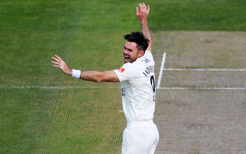James Anderson became a threat to India, completed 1000 wickets in first class cricket