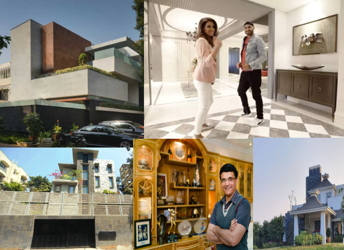 Inside pictures of 5 Cricketers lavish homes in India