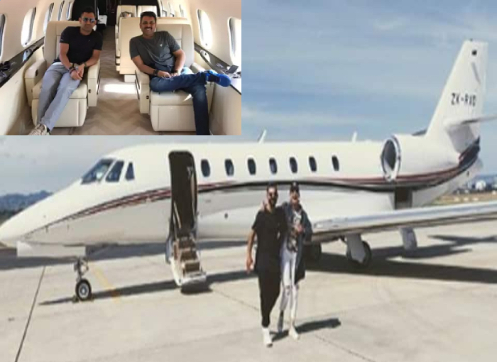 From MS dhoni to Virat Kohli, Cricketers Who Own Lavish Private Jets   Inside Photos