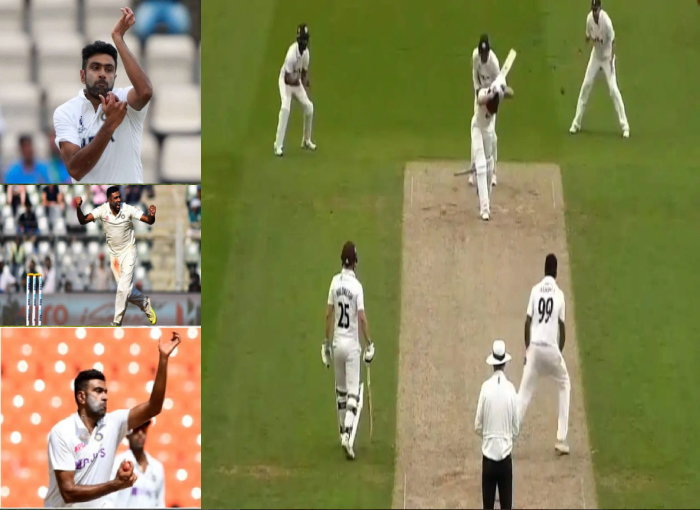 Record- R Ashwin made a special record of English county in the history of 11 years