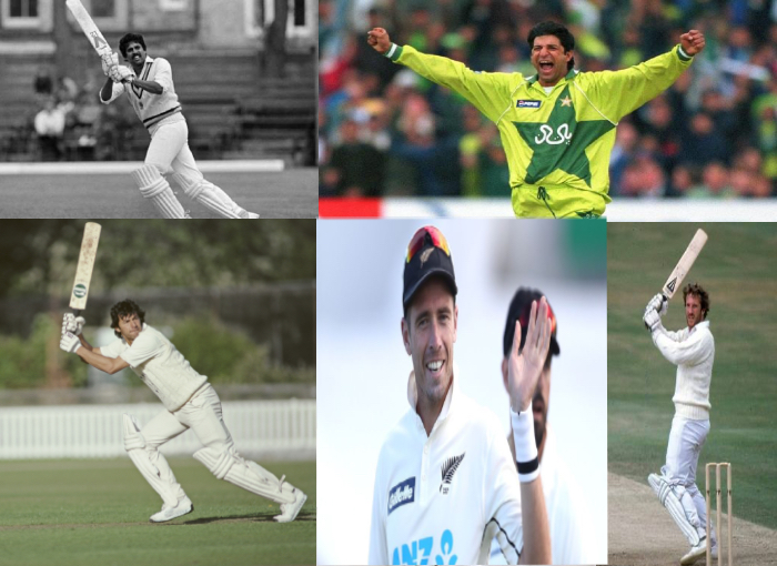 Top 5 players who hit 300 wickets and 50 sixes in Tests Cricket