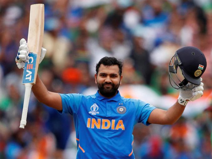 Rohit Sharma Special Day – Five centuries in the ODI World Cup, beat Kumar Sangakkara