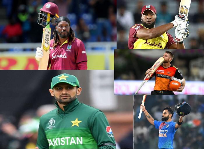 Top 5 Run Scorers in T20 Cricket
