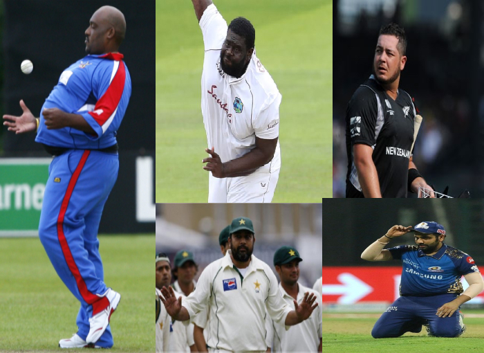 8 most unfit cricketer of world