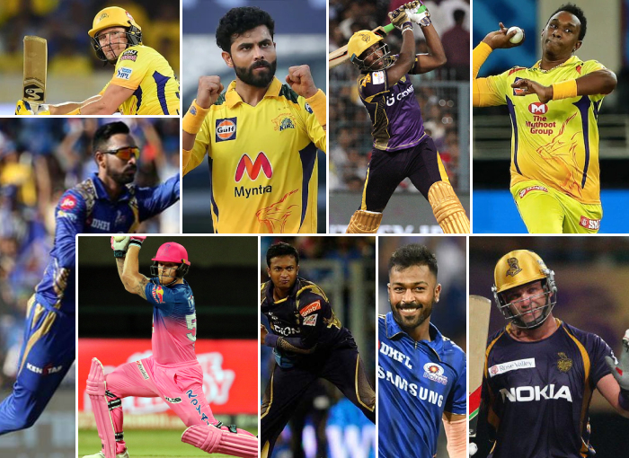 Top 10 All Rounder's in History of IPL