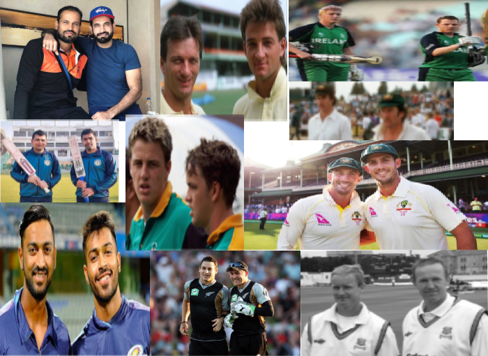 10 Cricketers Brother Pairs – Cricketers Who Are Real Life Brothers