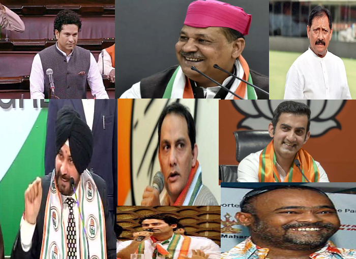 Top 10 Indian Cricketers Who are in Politics after a successful career in Cricket