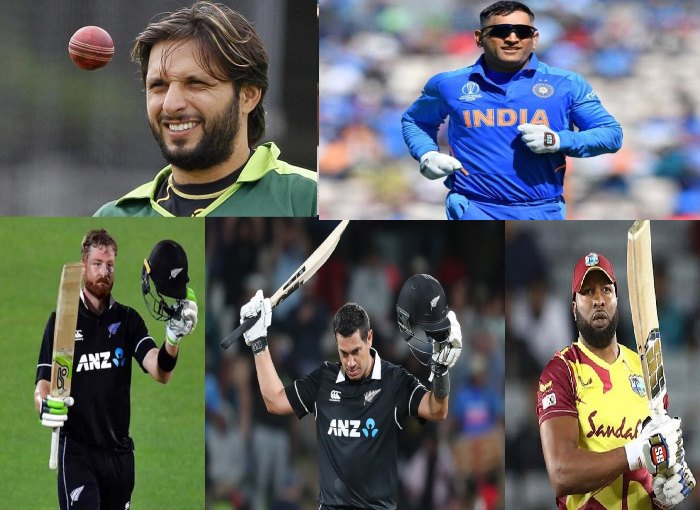 Top 5 batsmen to hit the fastest 100 sixes