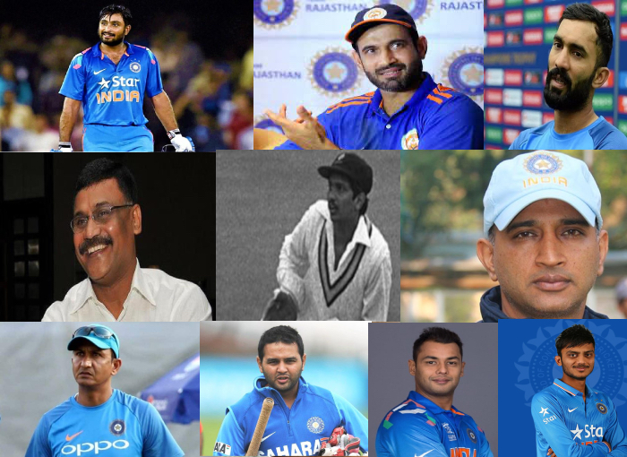 10 Indian players, who were selected in the World Cup team, but they never played.