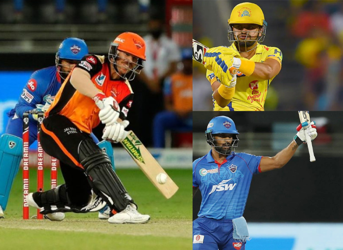 Top 3 players who have scored 400 plus runs consecutively in minimum 6 IPL seasons