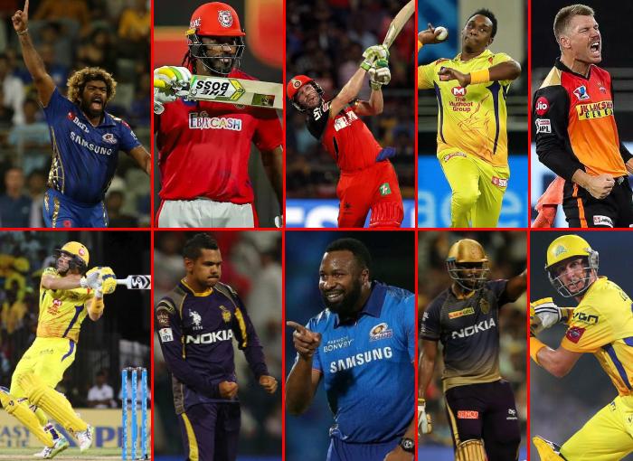Top 10 overseas cricketers in IPL History