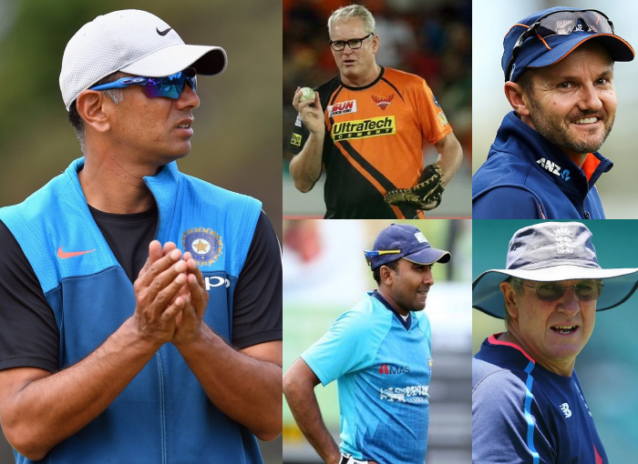 Top 5 contenders for coach of team India